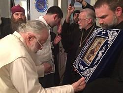 O Most Holy Theotokos, save us!